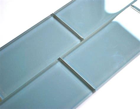 3x6 subway tile powder blue 3x6 shiny subway glass tile backsplash wall
