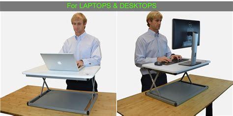 cheap standing desk converter uncaged ergonomics cdmm w changedesk mini stand up desk