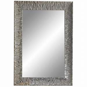 Miroir Cadre Bois : miroir cadre bois silver parigi 90 70 cm ondyna mp9719 ~ Teatrodelosmanantiales.com Idées de Décoration