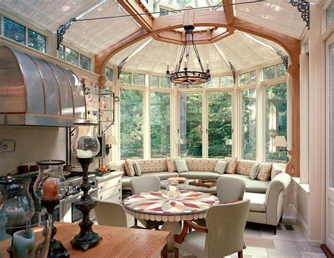 classy glass kitchen conservatory  barnes vanze