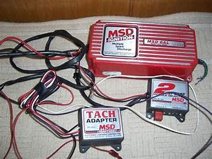 New Jersey Msd 6al Ignition Box  2 Step Module  And Msd Tach Adapter 150 00 Shipping
