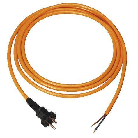 le mit stecker elektroger 228 te anschlussleitung pur 2 x 1 5 mit stecker
