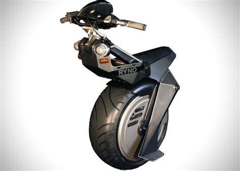 One Wheel Electric Micro-cycle By Ryno Motors