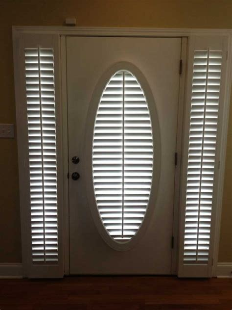 lovely sidelight blinds front door window images home