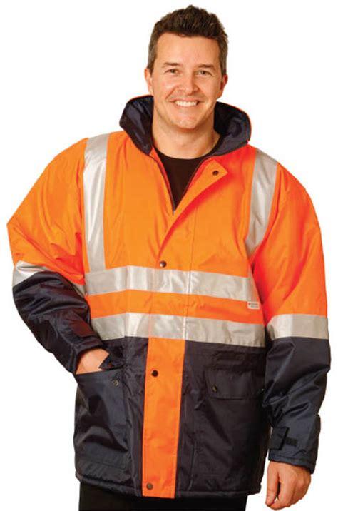 HiVis Two-Tone Jacket, HiVis Safety Jacket, Workwear Jacket SW28