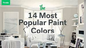 14 popular paint colors for small rooms life at home With kitchen cabinet trends 2018 combined with free sticker charts