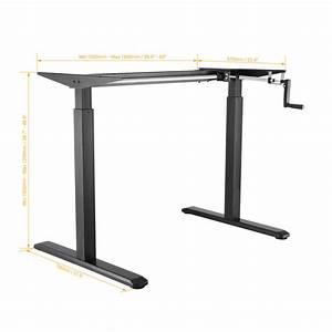 Primecables U00ae Manual Crank Adjustable Height Sit