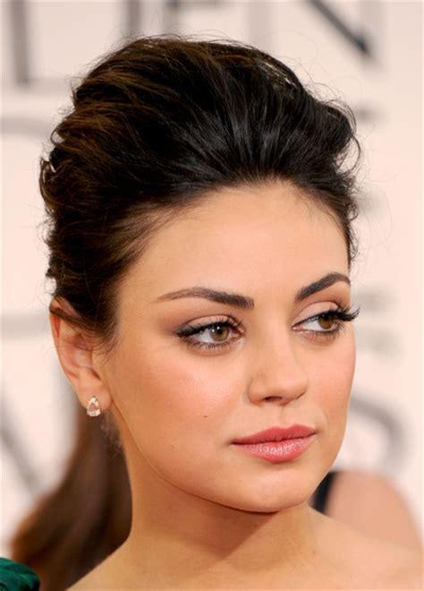 Mila Kunis False Eyelashes Mila Kunis Makeup Looks
