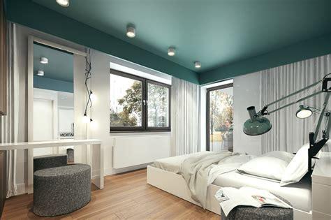 Green Bedroom : Interior Design Ideas