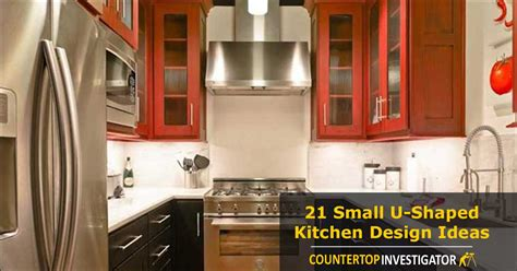 Ideas For Above Kitchen Cabinet Space - 21 small u shaped kitchen design ideas