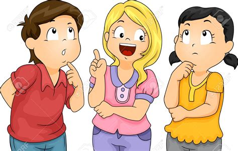 Thinking Clipart Children Thinking Clipart 101 Clip