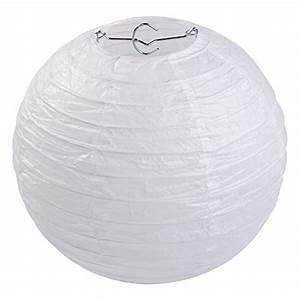 Partytheke Selber Bauen : lihao 8 inch white round paper lanterns 10 pack home garden decor decorative bells ~ Markanthonyermac.com Haus und Dekorationen