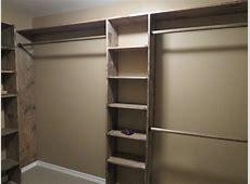 Small Closet Design Plans Easy Pieces Modular Closet