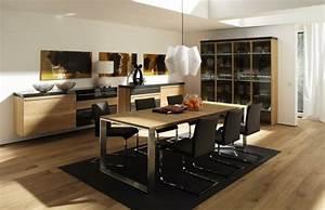 Salle A Manger Moderne : salle manger design modernit et convivialit ~ Teatrodelosmanantiales.com Idées de Décoration
