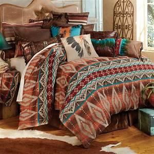 Western, Bedding, Sets, King, Size, Sonoran, Sky, Bed, Set