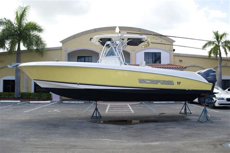 Scarab Cigarette Boats For Sale by Sold Used Boats In West Palm Vero Fl With