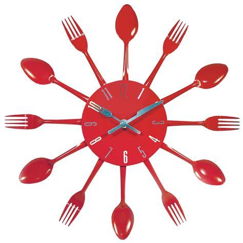 horloges de cuisine horloge couverts cuisine maisons du monde