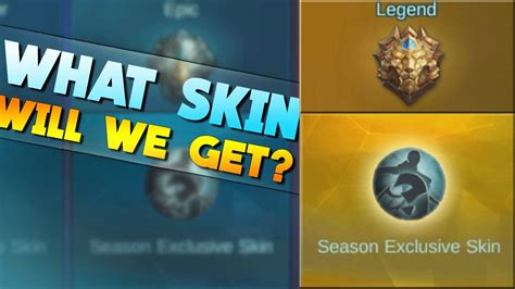 Mobile Legends Season Exclusive Skins!