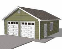 diy 2 car garage plans 24x26 24x24 garage plans With 24x24 garage material list