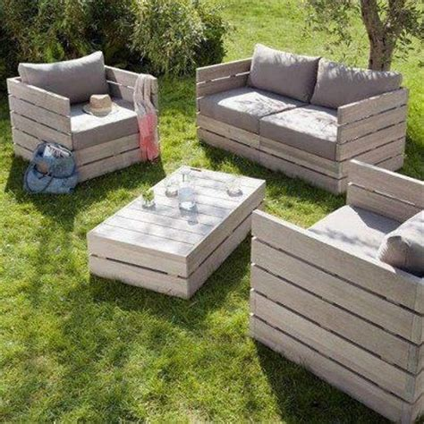diy outdoor furniture made from pallets 10 diy outdoor furniture made of pallet easy diy and crafts 45691