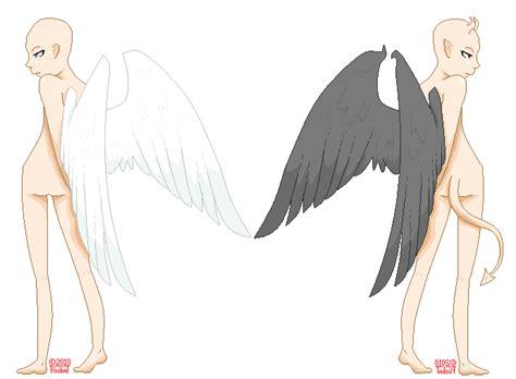 Angel V. Demon Base By Poxkat On Deviantart