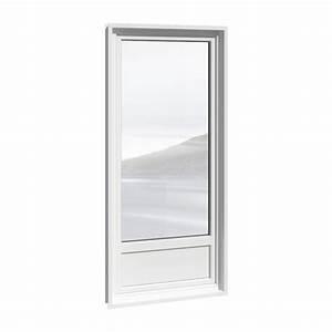 Cad und bim objekte porte fenetre 1 vantail pvc avec for Porte fenetre 1 vantail pvc