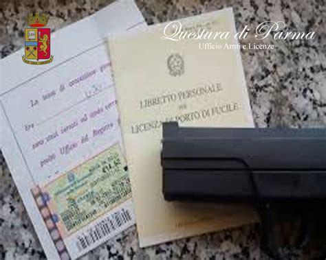 Questura Di Ufficio Armi by Ufficio Armi E Licenze