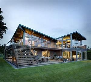 Maison Structure Métallique : maison ossature m tallique osez une architecture moderne ~ Melissatoandfro.com Idées de Décoration