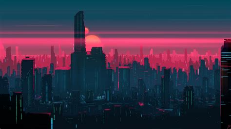 1080p Neon City Wallpaper by Neon City Wallpaper Page 2 Of 3 Wallpaperhd Wiki