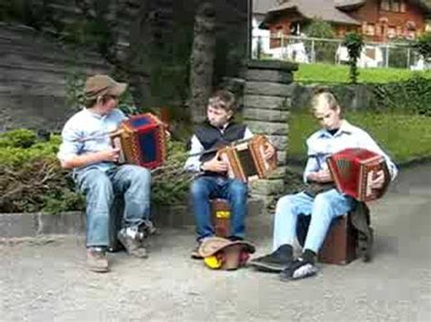quot country roads quot played on accordians by swiss boys
