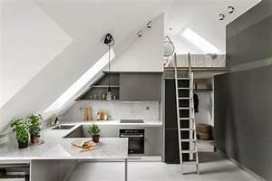 Appartement Sous Comble : comment optimiser un petit appartement sous les toits r ve de combles ~ Dallasstarsshop.com Idées de Décoration