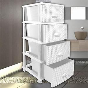 Kommode Mit Regal : kommode rattanoptik regal schubladen schubladencontainer badezimmerschrank n910 ebay ~ Orissabook.com Haus und Dekorationen