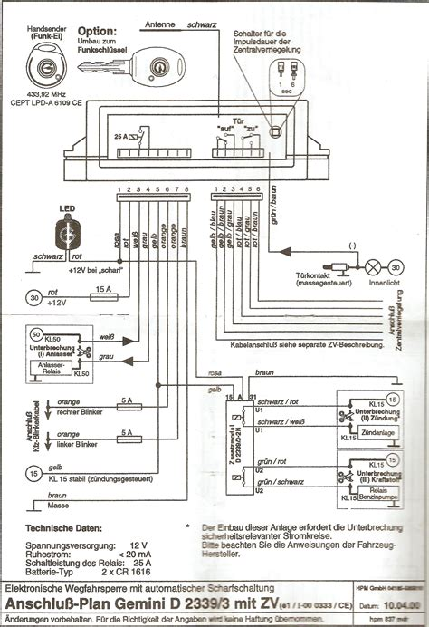 Karr Auto Alarm Wire Diagram by Problem With Gemini 2339r 3 Elektroda Pl