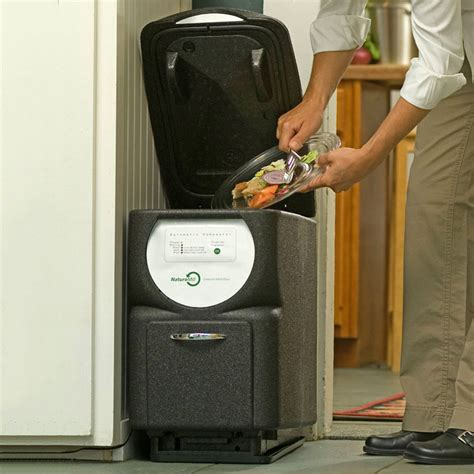 naturemill  automatic kitchen composter  green head