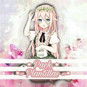 Plantilla Anime Girl