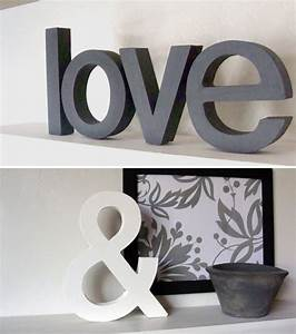 Love ampersand lushlee for Love decor letters