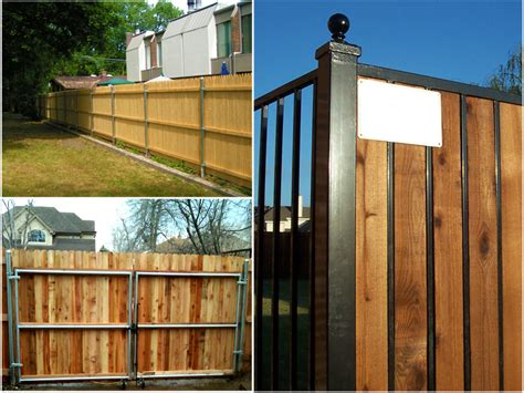 alternative to wooden fencing learning about wood fence welcome to good day fence