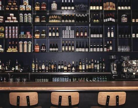 wonderful wall bar shelves  industrial restaurant bar