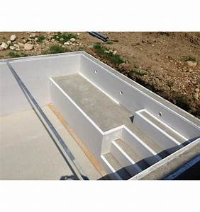 piscine semi enterree en kit piscine bois 6x4 idea mc With plan de piscine beton