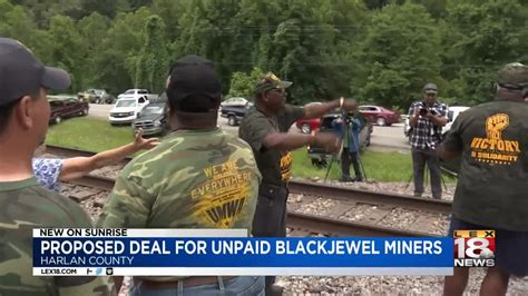 blackjewel miners  receive  pay  proposed deal