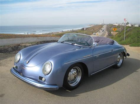 old porsche speedster imagine cruising up the pacific coast highway to your
