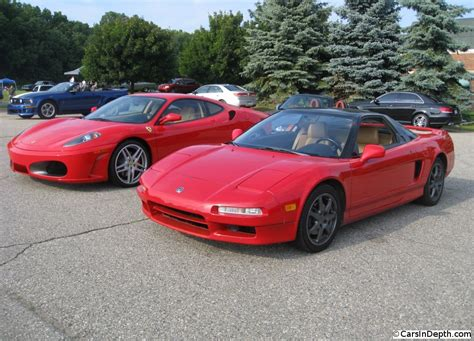 if you could choose only one ferrari 430 or acura nsx