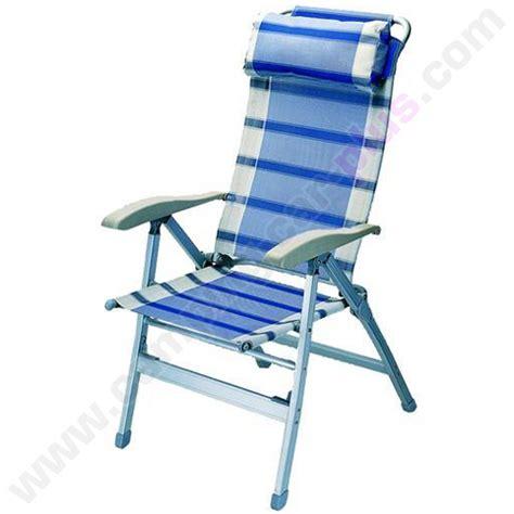 fauteuil pour cing car fauteuils chaise fauteuil alu dos haut bleu pour cings cars caravanes ou autres
