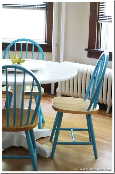 kitchen chairs painted different colors chalk painted kitchen dish towel rack inmyownstyle 8210
