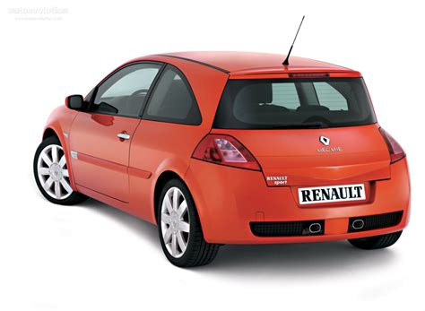 renault megane 2005 sedan renault megane rs coupe specs 2004 2005 2006