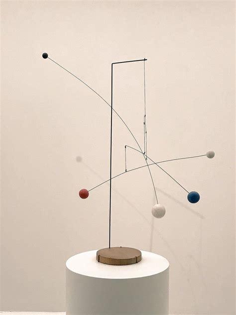 Calder Mobile Sculptures by Calder Quot Mobile With Four Spots Quot 1941 Shabby