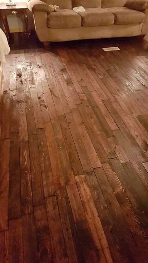 pallets wood  floor pallet ideas