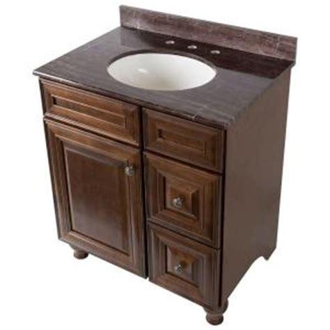 home decorators collection templin 31 in vanity in coffee