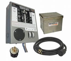 Generac Manual Transfer Switch  30a  120  240v