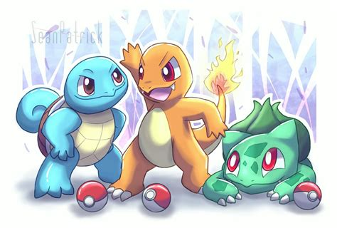 Pokemon Kanto Starters~ By Ppoint555 On Deviantart